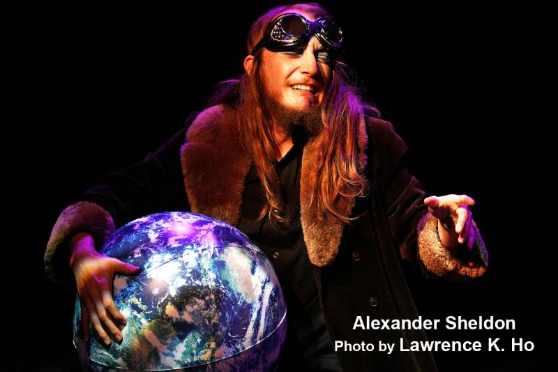 BWW Interview: Actor/Puppeteer Alexander Sheldon's Hands On (& In) THE HITCH-HIKER