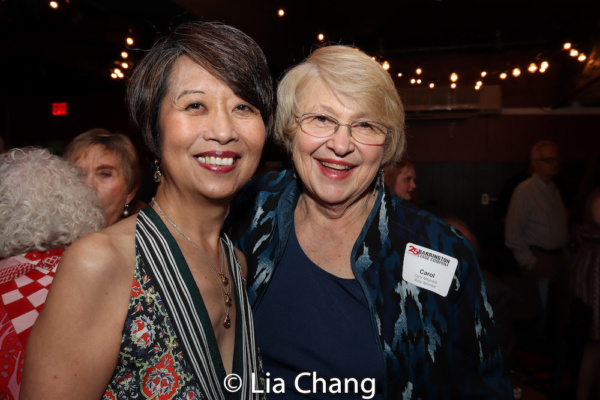 Playwright Jeanne Sakata and Carol Maynard