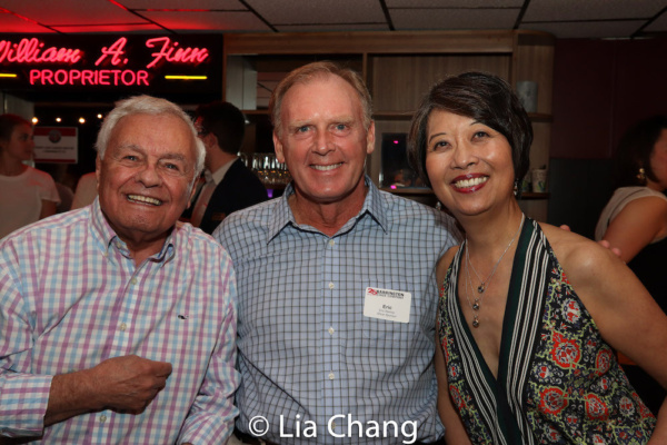 Dick Ziter, Eric Reimer and Playwright Jeanne Sakata