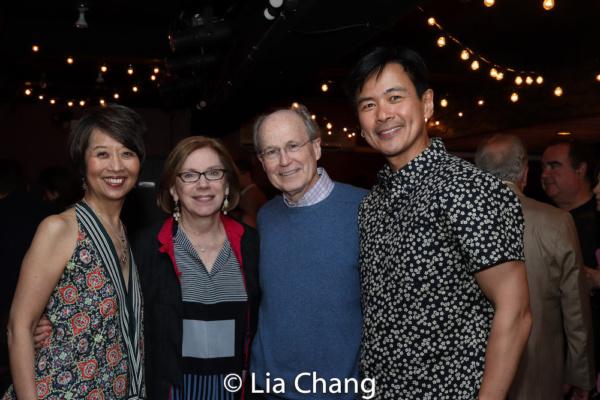 Jeanne Sakata, Barrington Stage Company?s Artistic Director Julianne Boyd, Norman Boyd, Joel de la Fuente