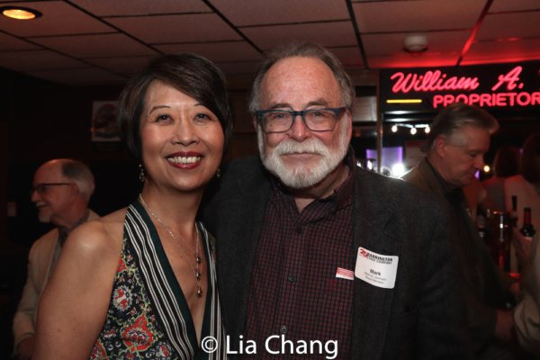 Playwrights Jeanne Sakata and Mark St. Germain