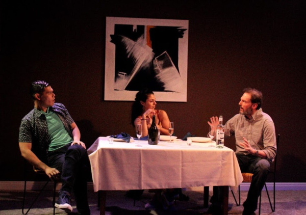 Ruy Iskandar, Tania Verafield, and Silas Weir Mitchell Photo