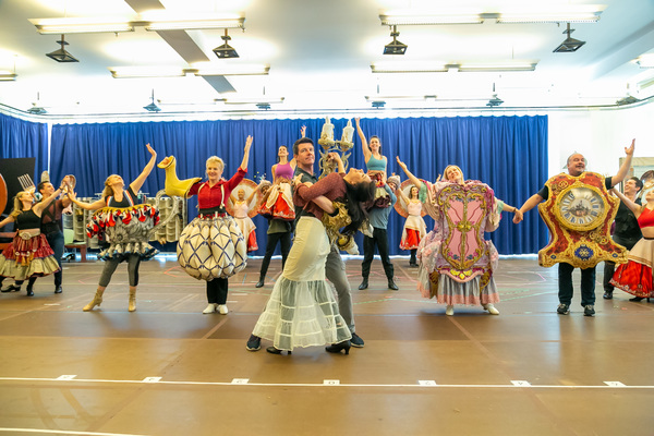 Photo Flash: BEAUTY AND THE BEAST In Rehearsal At Paper Mill Playhouse