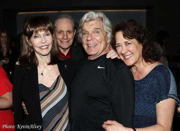 Barbara Feldon, Buddy Manti, John Davidson, Karen Ziemba Photo