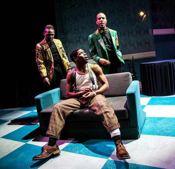 Photo Flash: First Look At FIVE GUYS NAMED MOE At Theatrical Outfit