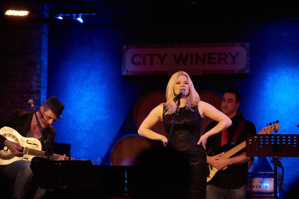 Brian Gallagher and Megan Hilty Photo
