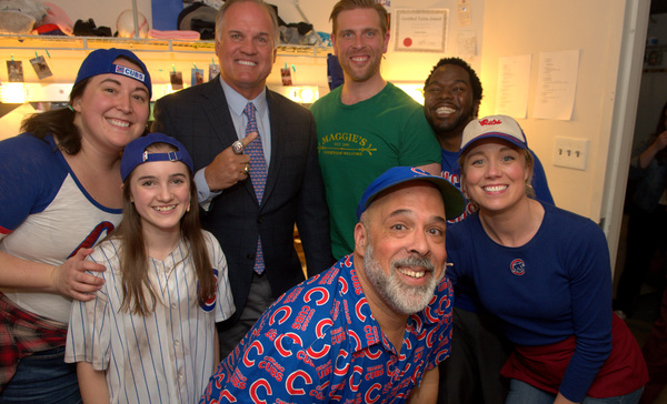 Veronica Garza, Elise Wolf, Ryne Sandberg, Michael Kingston, Brandon Dahlquist, Jonat Photo
