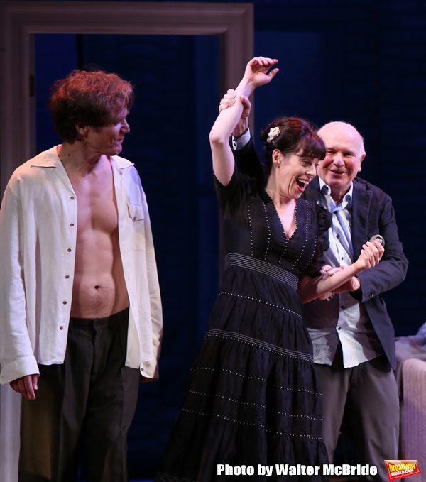 Photo Coverage: The Cast of FRANKIE AND JOHNNY IN THE CLAIR DE LUNE Take Their Bows at the Opening Night Celebration