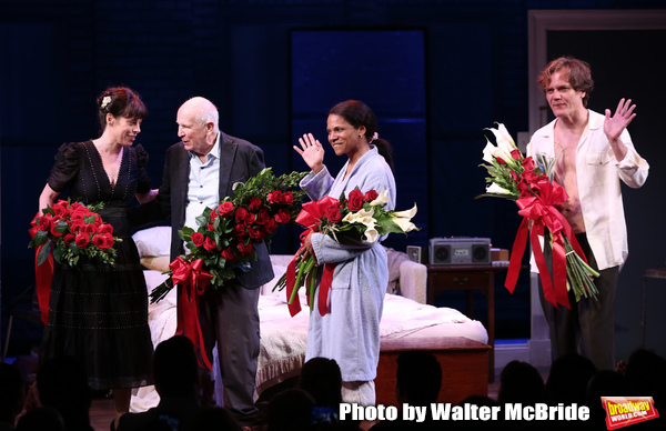 Arin Arbus, Terrence McNally, Audra McDonald and Michael Shannon