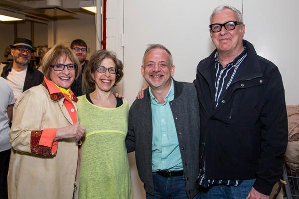 Patti LuPone, Marc Shaiman, Scott Wittman, Jackie Hoffman