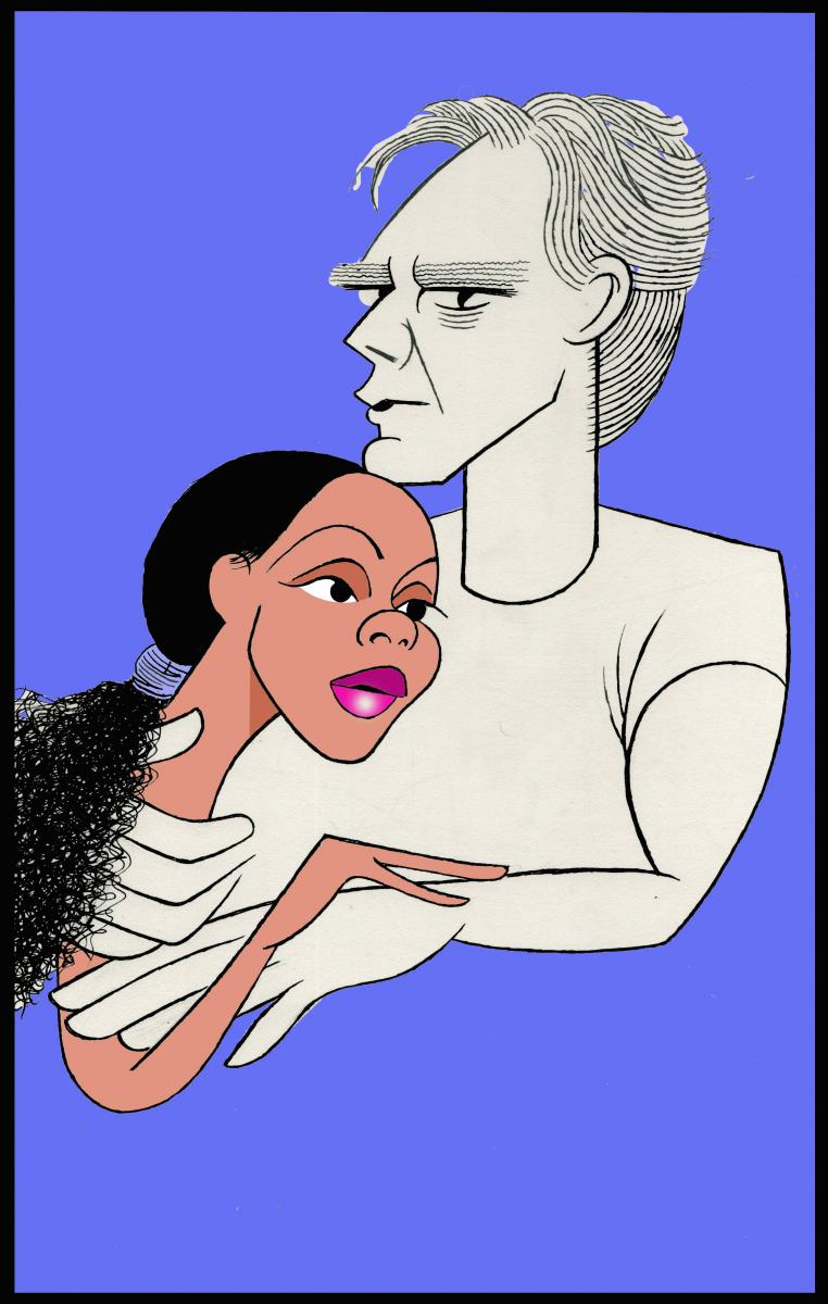 BWW Exclusive: Ken Fallin Draws the Stage - FRANKIE AND JOHNNY IN THE CLAIR DE LUNE