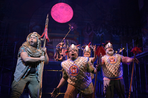Photo Flash: Get A First Look At John Leguizamo's Musical KISS MY AZTEC at Berkeley Rep