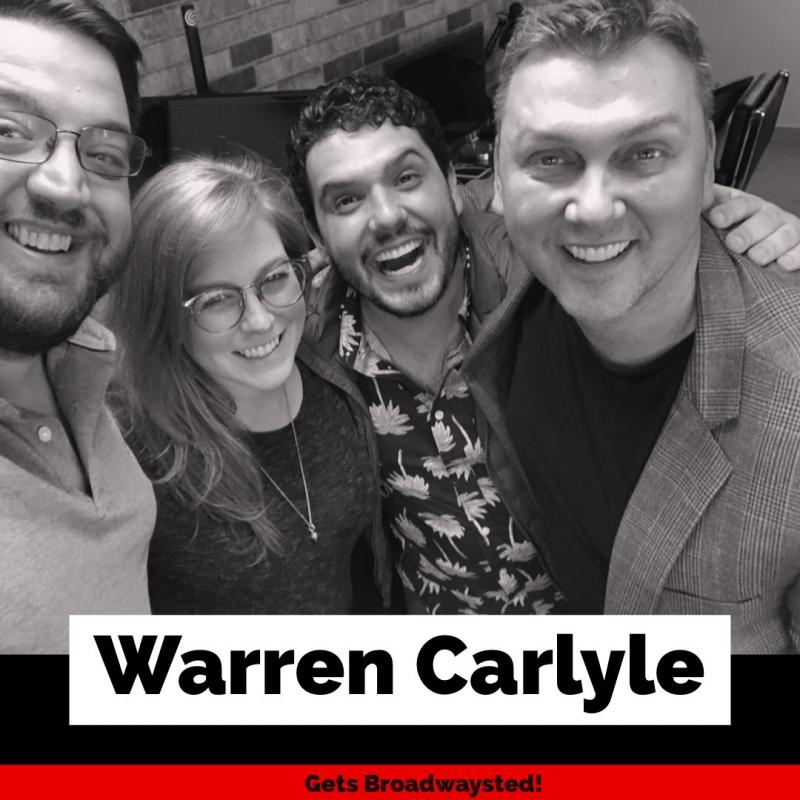 The 'Broadwaysted' Podcast Welcomes Tony-Winning Choreographer Warren Carlyle