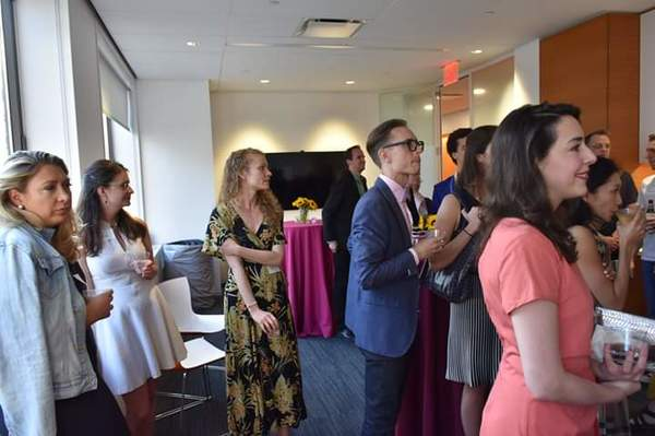 Photo Flash: The School Of American Ballet Alumni Cocktail Reception At Lincoln Center