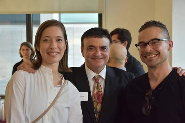 NYCB's Rebecca Krohn, Broadway's Lawrence Leritz and NYCB's Adam Hendrickson Photo