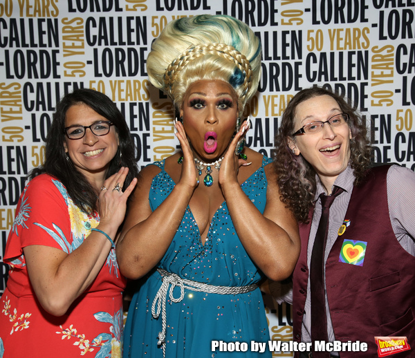 Wendy Stark, Peppermint and  Laura A. Jacobs  Photo
