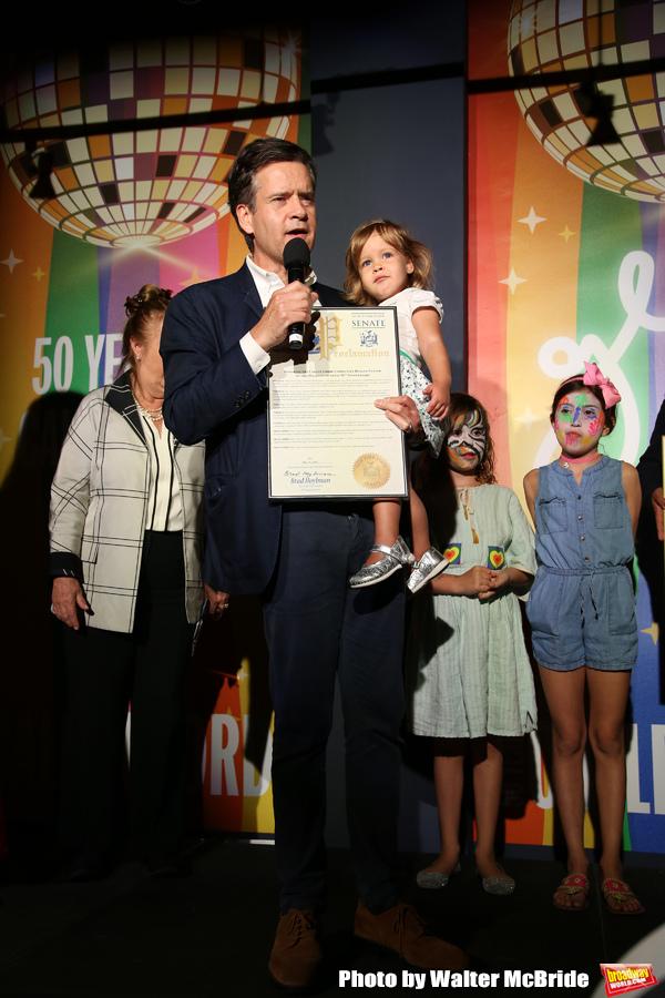 State Senator Brad Hoylman with daughter Photo