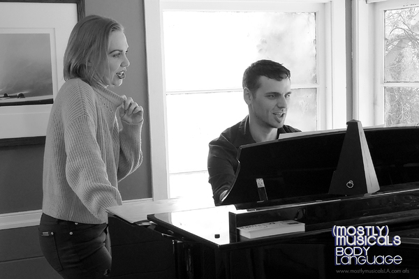 Photo Flash: Inside Rehearsal For (mostly)musicals: BODY LANGUAGE