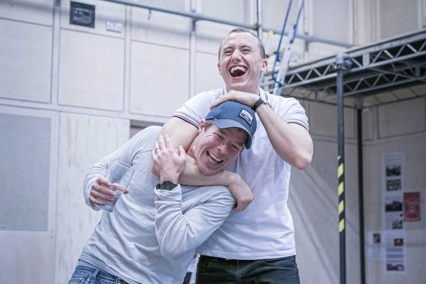 Stephen Wight and Theo Barklem-Biggs