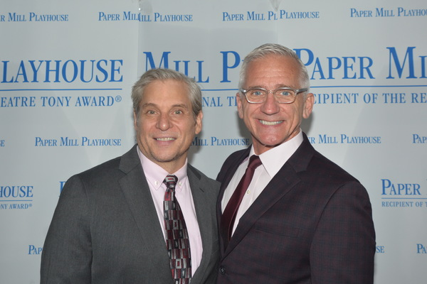Alex Sanchez and Mark S. Hoebee (Director and Producing Artistic Director) Photo