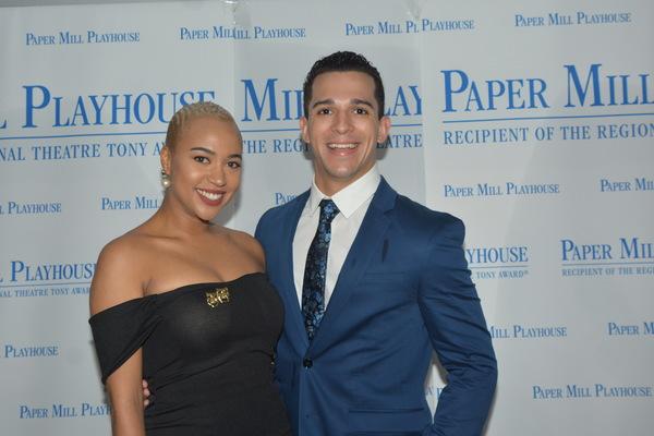 Lauren E.J. Hamilton and Justin DeParis Photo
