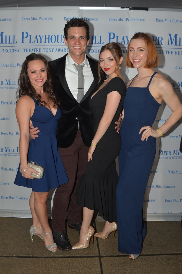 Brittany Conigatti, Stephen Mark Lukas, Alexa Racioppi and Corinne Munsch Photo