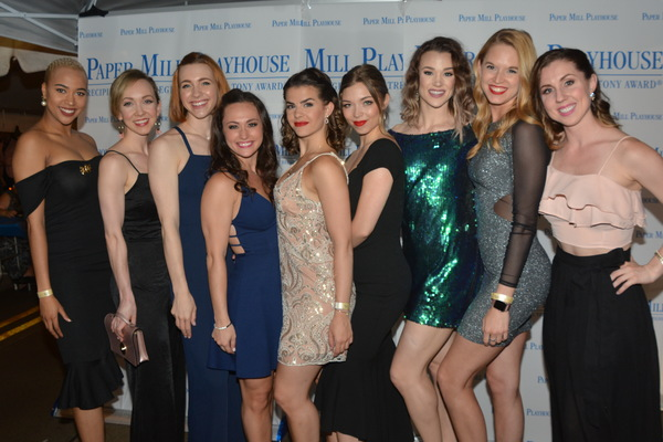 The Ladies of Beauty and The Beast-Lauren E.J. Hamilton, Molly Rishing, Corinne Munsch, Brittany Conigatti, Monica Cioffi, Alexa Racioppi, Cynthia Thorem Annie Gagen and Bronwyn Tarboton
