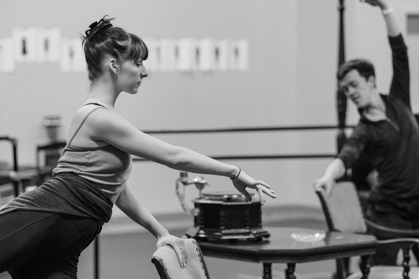 Photo Flash: In Rehearsal with Terrence McNally's IMMORTAL LONGINGS