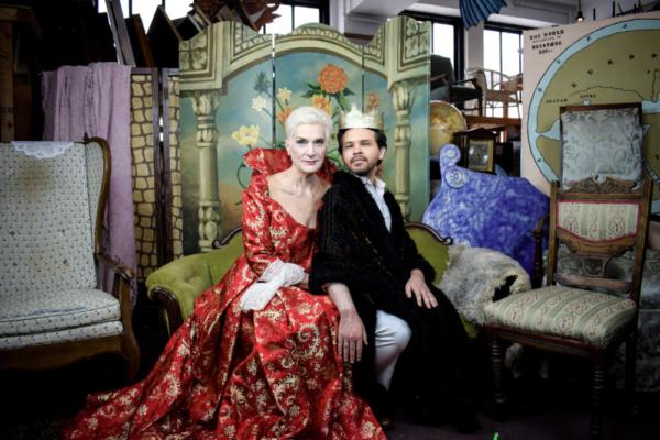 Liz Norton and Frankie Leo Bennett