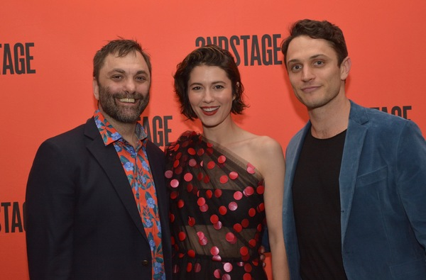 Christopher Shinn, Mary Elizabeth Winstead and Colin Woodell