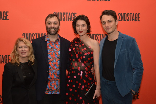Carole Rothman, Christopher Shinn, Mary Elizabeth Winstead and Colin Woodell