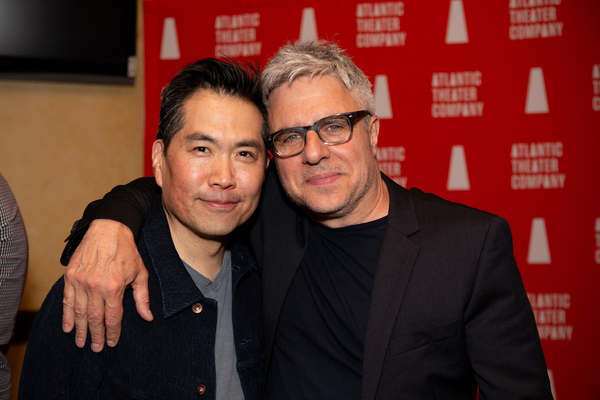 Andrew Pang and Neil Pepe Photo