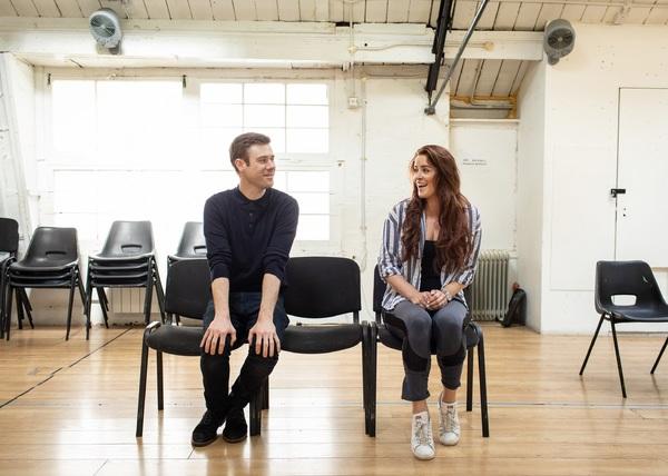Lucie Jones and David Hunter