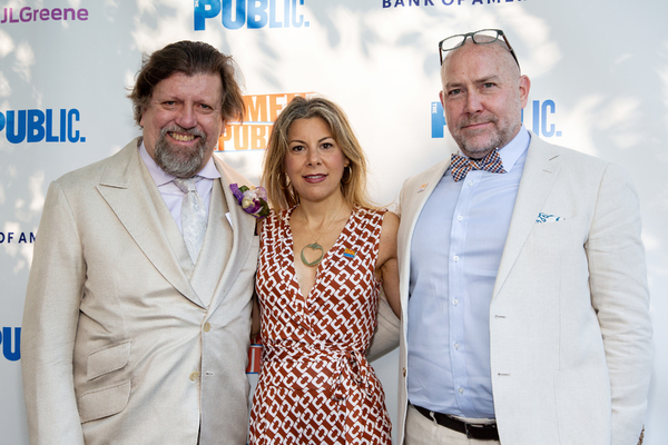 Oskar Eustis, Arielle Tepper, Patrick Willingham Photo