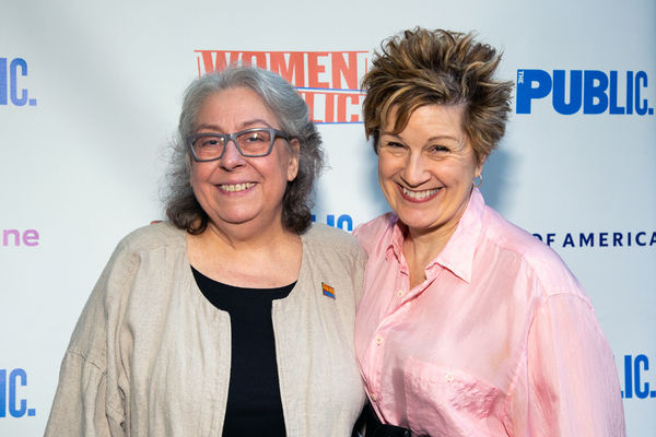 Jayne Houdyshell, Lisa Kron Photo