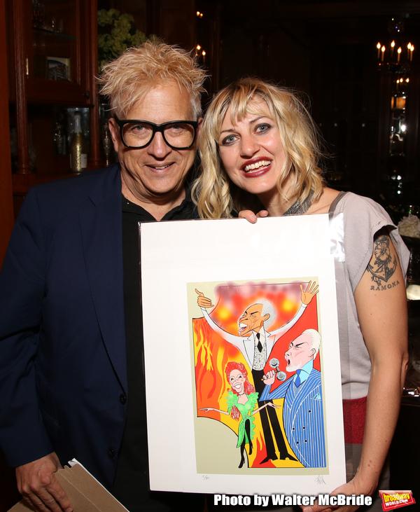 Artist Ken Fallin and Anais Mitchell