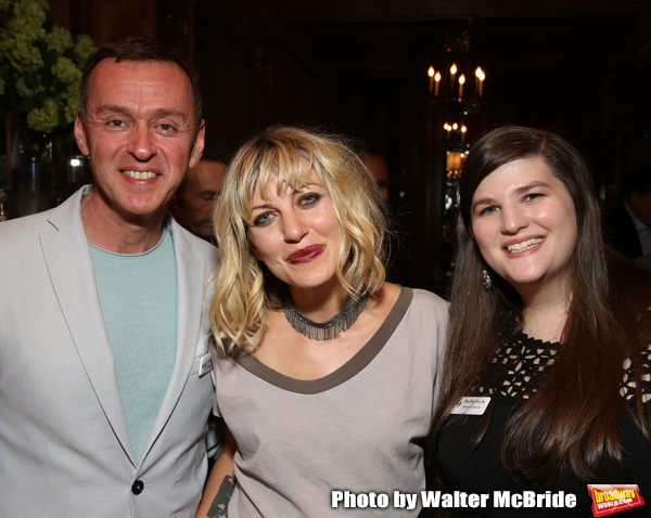 Andrew Lippa, Anais Mitchell and Rachel Routh