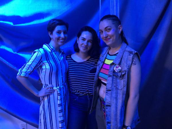 Tatiana Baccari, Erica Rose, Lily Ali-Oshatz.