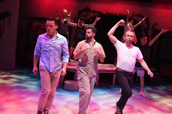 NOEL ANTHONY* (Sam Carmichael), JEFFREY BRIAN ADAMS* (Bill Austin), KEITH PINTO* (Har Photo