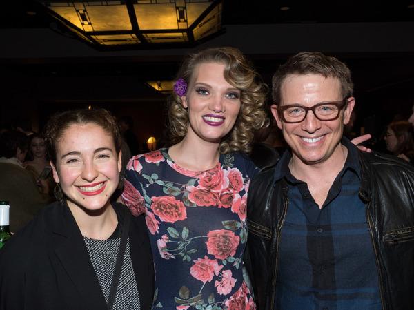 Natalie Iscovich, Wig Designer Kaitlin McCoy, and Jeff Skowron