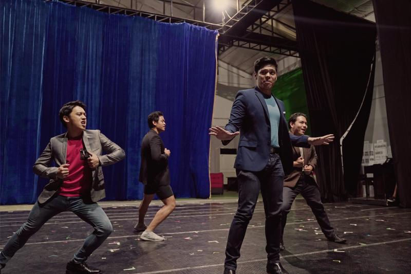 Photo Flash: Get a First Look at Rehearsals for BEAUTIFUL: THE CAROLE KING MUSICAL in Manila!