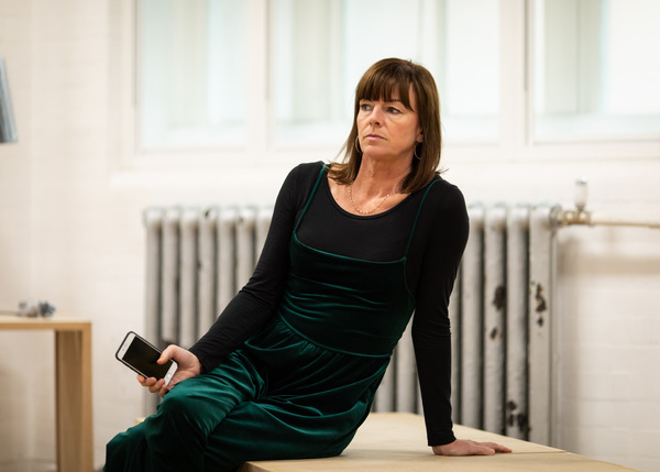 Photo Flash: In Rehearsal With John Malkovich and the Cast of BITTER WHEAT