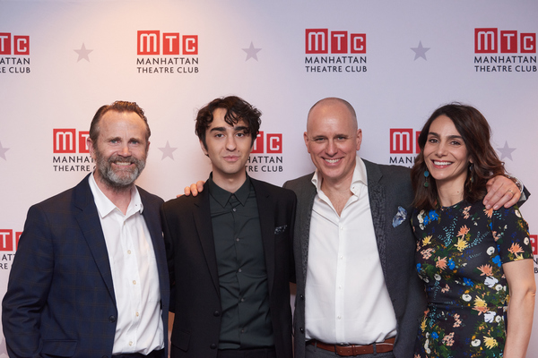 Lee Tergesen, Alex Wolff, Kelly AuCoin, and Annie Parisse