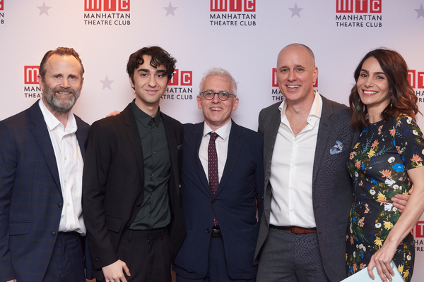 Lee Tergesen, Alex Wolff, Kelly AuCoin, Annie Parisse, Donald Margulies