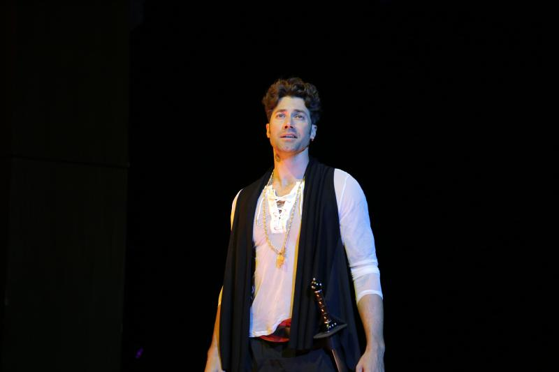 BWW Interview: Ace Young Stars as Radames in AIDA at Axelrod Performing Arts Center