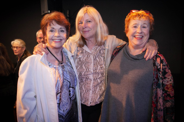 The Pack at Gary Austin Stage at The Groundlings Theatre in Hollywood. Depicted: Marcia Rodd (l.), Candy Clark, Lynne Stewart. Photo by Justin Wagner. 6/2/19