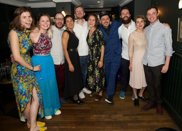 Anna Smith (Producer), Helena Middleton (Co Director), Ben Vardy, Hanora Kamen, Tom B Photo