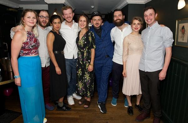 Helena Middleton (Co Director), Ben Vardy, Hanora Kamen, Tom Brennan, Emily Greenslad Photo
