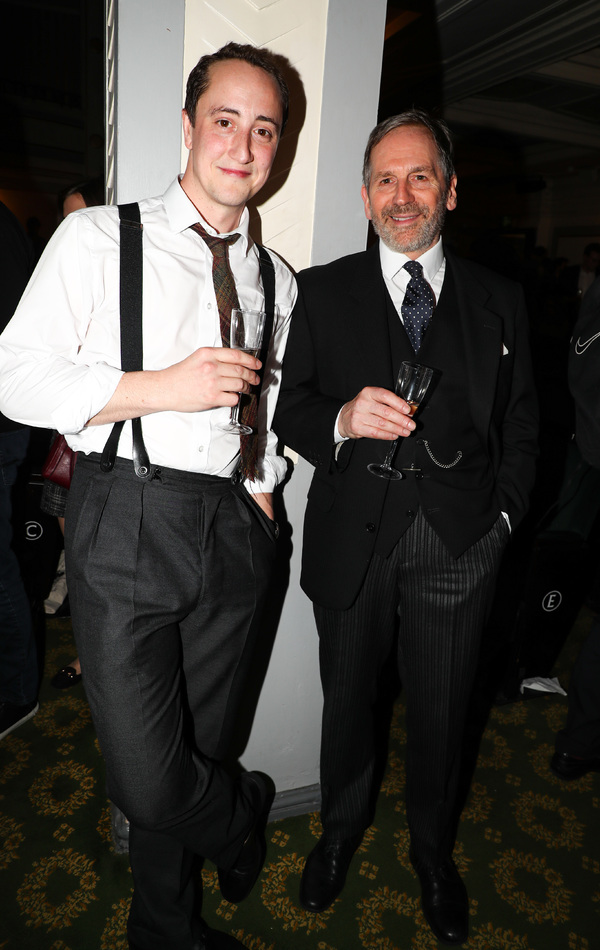 Stuart Fox (Arthur Kipps) Matthew Spencer (The Actor) Photo