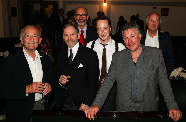 The current and original line up, Charles Kay (Arthur Kipps), Stuart Fox (Arthur Kipp Photo